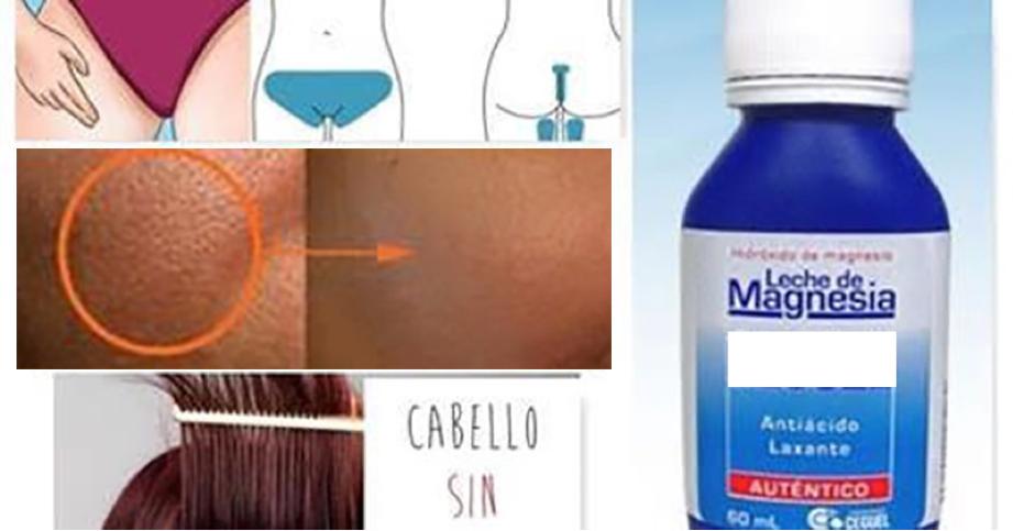 Le llaman Magia Blanca. Los 7 usos de la leche magnesia para la piel y el cuerpo que todos necesitan conocer!