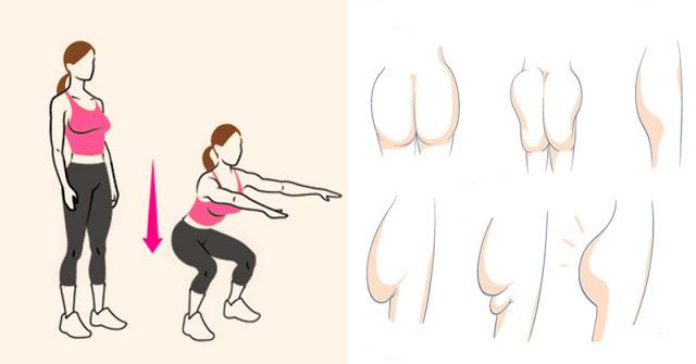 Los 6 mejores ejercicios para tonificar tus glúteos rápidamente