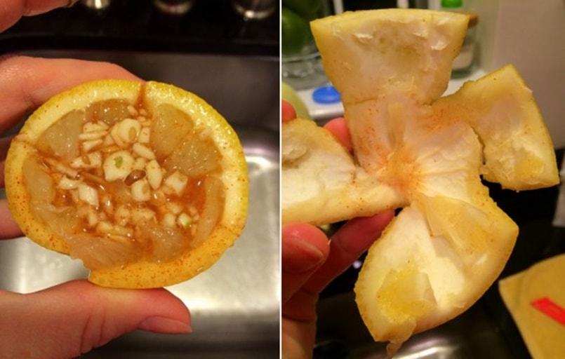 Remedio natural a base de miel, limón y ajo para combatir la gripe en una sola tomada