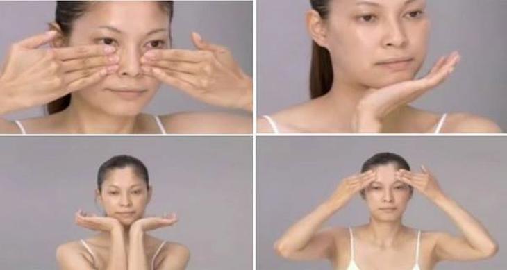 Masaje facial japonés te hará lucir 10 años más joven