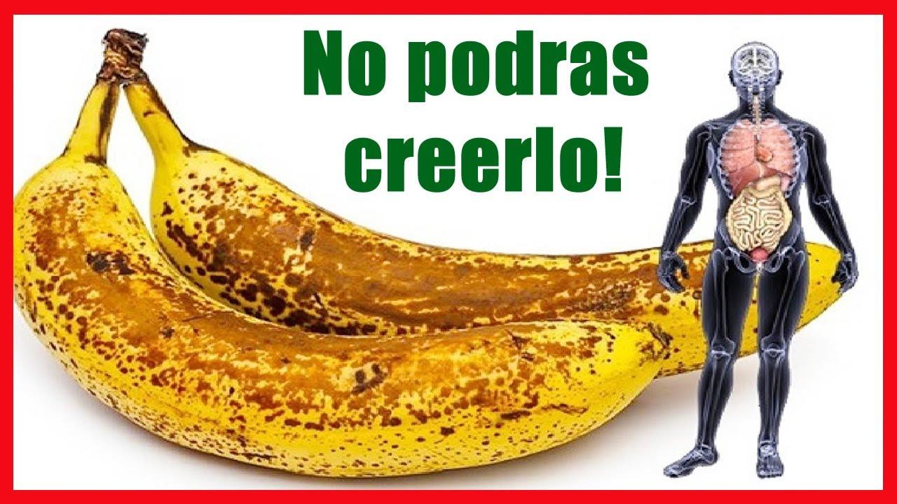 Esto es lo que sucederá en tu cuerpo si come 2 banana por día durante 1 mes