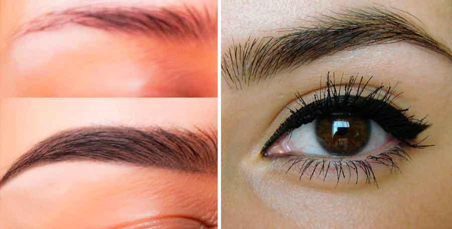Esto te ayuda a marcar y hacer crecer las cejar de forma casi instantánea