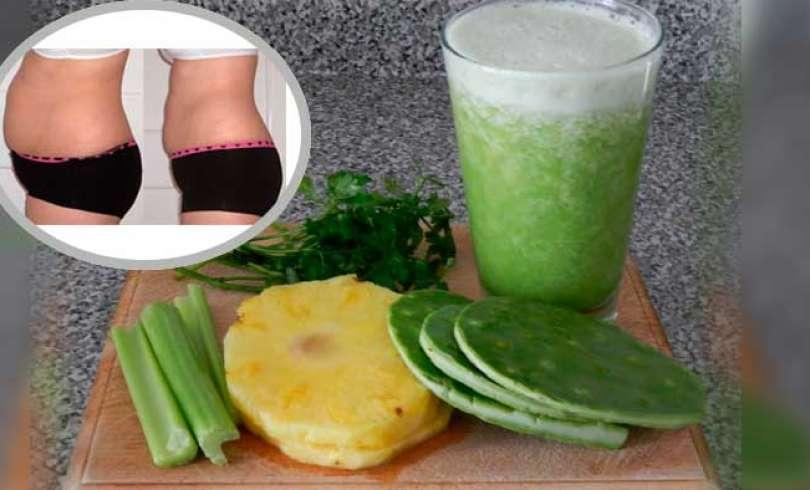 Jugo verde para perder peso sin sufrimientos