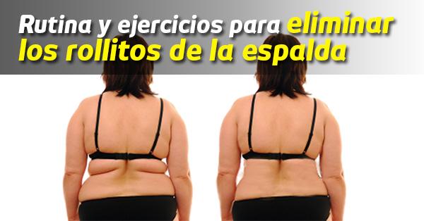 Con estos ejercicios y esta dieta podrás desaparecer rollitos de tu espalda
