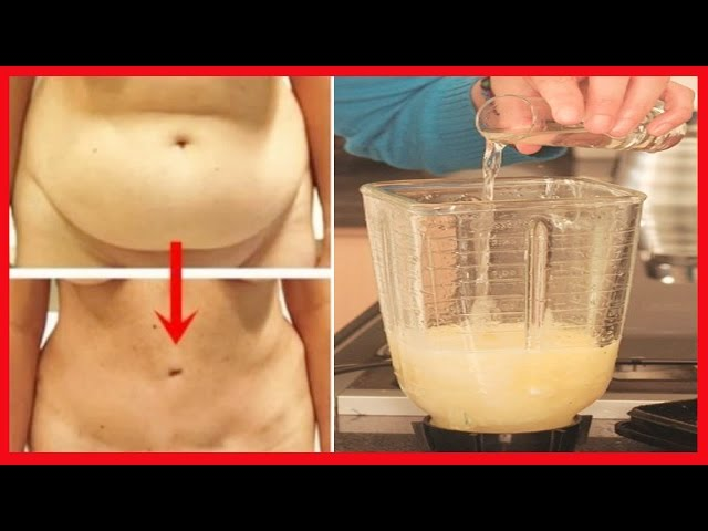 Beba esto durante 3 días y la grasa de su vientre va a derretirse como un helado… es lo mejor que he probado. no lo ignores.
