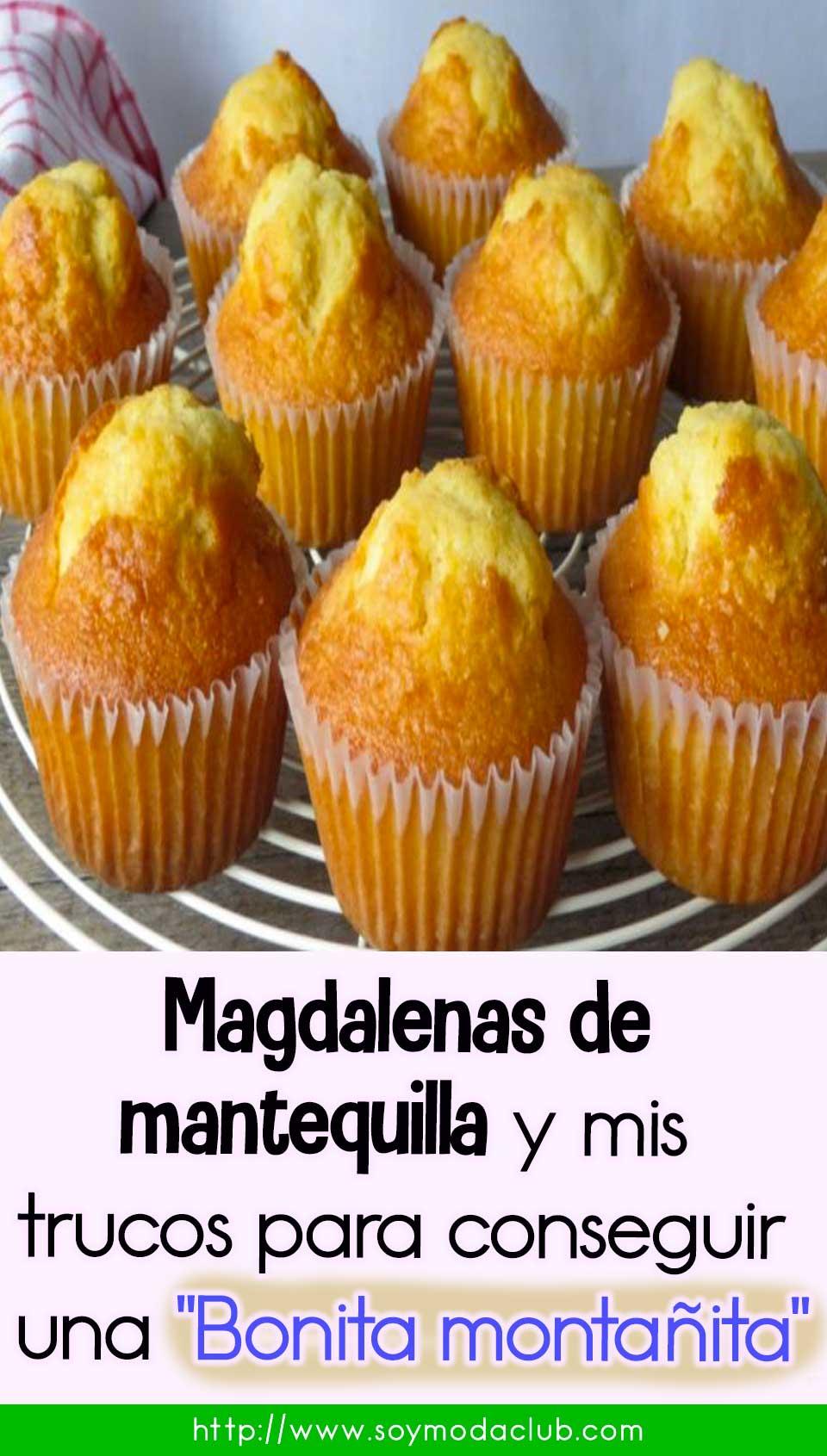 Magdalenas de mantequilla