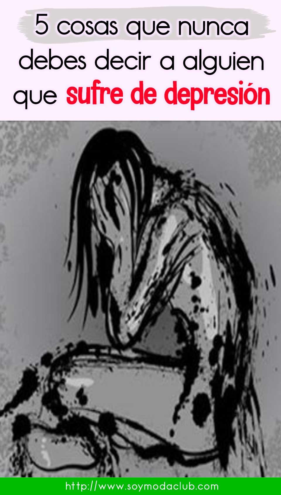 sufre de depresión